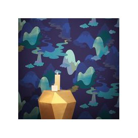 image-Dreamscape Wallpaper by Feathr (colour: Night)
