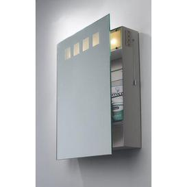image-ZEU94 Zeus IP21 Bathroom Mirror Cabinet