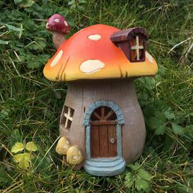 image-Mystical Mushroom Fairy Garden House with LED Light Decoration Sol 72 Outdoor