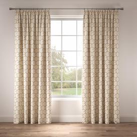 image-Honeycomb Pencil Pleat Blackout Curtains