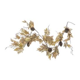 image-A by AMARA Christmas - Maple Leaf Garland - Gold