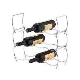 image-Hulce 12 Bottle Tabletop Wine Rack Symple Stuff