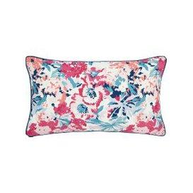 image-Joules Bedding Cottage Garden Border Stripe Cushion, Multi