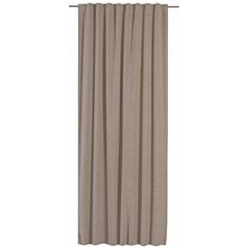 image-Shirley Slot Top Blackout Curtain Marlow Home Co. Colour: Brown