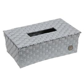 image-Tissue Box Cover Handed By Colour: Flint Grey