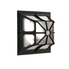 image-Elstead CP12 BLACK Chapel Exterior Flush Wall Light Wall Lantern In Black