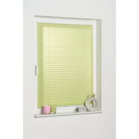 image-Semi-Sheer Pleated Blind Mercury Row Finish: Green, Size: 45 W x 130 L cm
