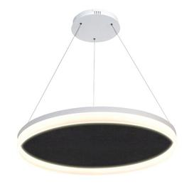 image-Getz 1 - Light Geometric LED Pendant Ebern Designs Size: 8cm H x 120cm W x 120cm D, Finish: Black