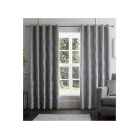 image-Chateau Lined Eyelet Curtains