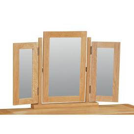 image-Benjamin Rectangular Dressing Table Mirror Union Rustic