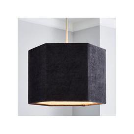 image-Mona 30cm Hexagonal Shade Grey