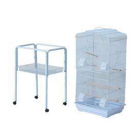 image-Guadalupe 160Cm Flat Top Bird Cage with Wheels