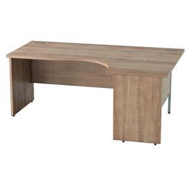 image-Derry Corner Desk Mercury Row Finish: Birch, Size: 72.5 cm H x 180 cm W x 80 cm D