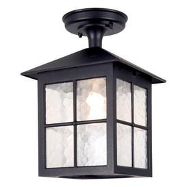 image-Elstead BL18A Winchester exterior, black, flush porch lantern, IP23