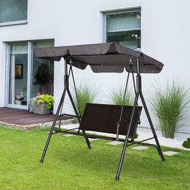 image-Burand Swing Seat with Stand Sol 72 Outdoor