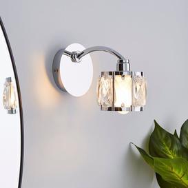 image-Kylie Bathroom Wall Light Chrome