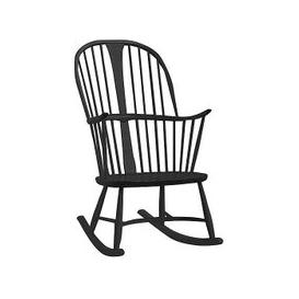 image-Ercol - Originals Chairmakers Rocking Chair - Black