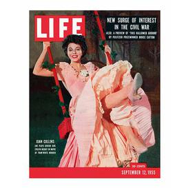 image-'Time Life - Life Cover - Joan Collins' Vintage Advertisement  East Urban Home Format: Paper, Size: 40cm H x 30cm W