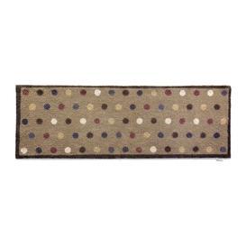 image-Hug Rug - Spot Washable Recycled Door Mat - Brown - 65x150cm