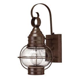 image-Beebe 1-Light Outdoor Wall Lantern Williston Forge Size: 35.6cm H x 18.4cm W x 20.3cm D