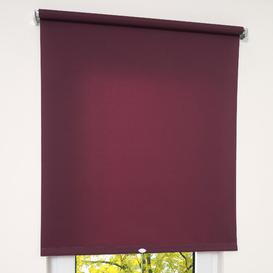 image-Opaque Roll-Up Blind Zipcode Design Size: 62 x 180cm, Colour: Blackberry