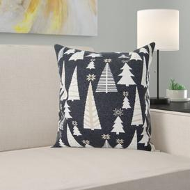 image-T-Glamour Christmas Cushion Cover Tom Tailor Colour: Charcoal/Gold