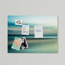 image-Magnetic Wall Mounted Photo Memo Board Beachcrest Home