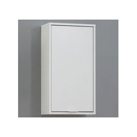 image-Zamora 5 Bathroom Wall Cabinet in White Finish