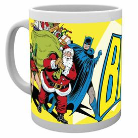 image-DC Comics Batman Christmas Mug Happy Larry