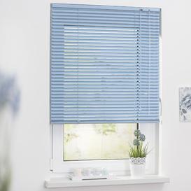 image-Sheer Venetian Blind Symple Stuff Size: 90cm W x 220cm H, Colour: Blue