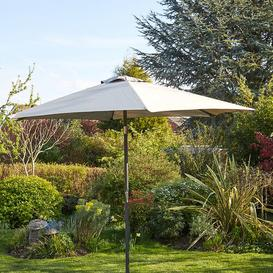 image-Chancery 2.7m Traditional Parasol Freeport Park Fabric Colour: Grey