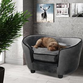 image-Adair Dog Sofa Archie & Oscar Colour: Grey