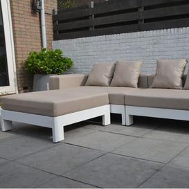 image-Nava Bench Sol 72 Outdoor Size: 70cm H x 250cm W x 80cm D