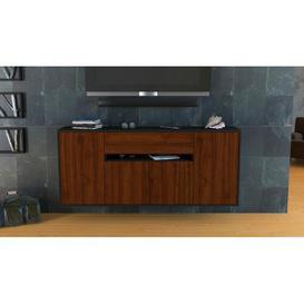image-Krugerville Sideboard Ebern Designs Colour (Body/Front): Anthracite/Walnut