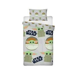 image-Star Wars The Mandalorian: The Child Face Single Duvet Cover Set