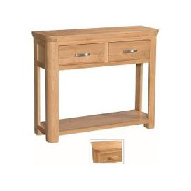 image-Empire Wooden Large Console Table With 2 Drawers