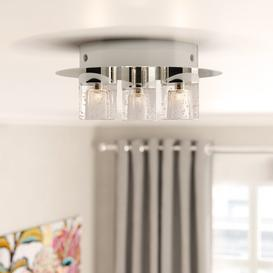 image-Jaquelin 3-Light LED Semi Flush Mount Wade Logan