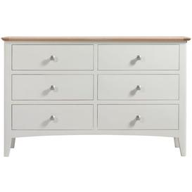 image-Alfriston White Painted Furniture 6 Drawer Chest