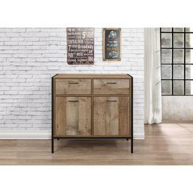 image-Wallis 2 Door 2 Drawer Rustic Sideboard