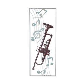 image-Aplique Trumpet Wall Decor Bloomsbury Market