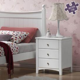image-Tweedle 3 Drawer Bedside Table The Children's Furniture Company