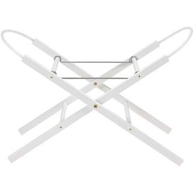 image-White Moses Basket Stand