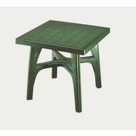 image-Minnesota Square Dining Table Sol 72 Outdoor Finish: Forest Green