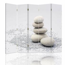 image-Schmit Room Divider Bloomsbury Market Number of Panels: 5, Size: 170cm H x 180cm W x 4cm D