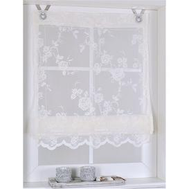 image-Florence Semi-Sheer Roman Blind Symple Stuff