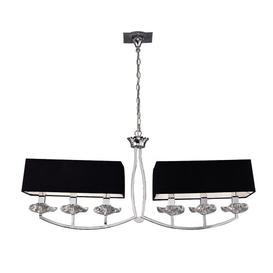 image-6-Light Shaded Chandelier Mercer41