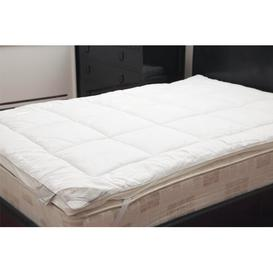 image-5cm Polyester/Silk Mattress Topper Wayfair Sleep Size: Double (4'6)