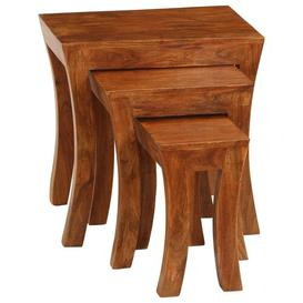 image-Dilworth 3 Piece Nest of Tables Natur Pur