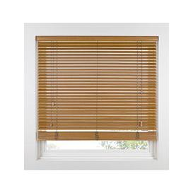 image-Made To Measure 35 Mm Wooden Venetian Blinds - Tawny