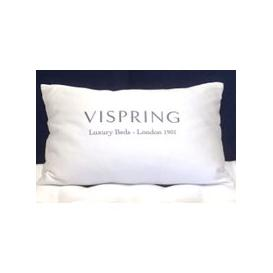 image-Vispring Pyrenean Duck Feather and Down Pillow - Standard 50x75cm
